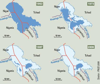 lac tchad II - L'assèchement du lac Tchad suscite des convoitises