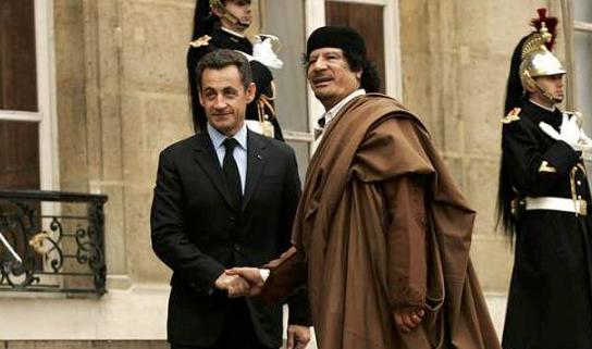 Mis en examen, Sarkozy dénonce les calomnies de la bande Kadhafi — France