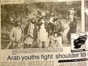 khashoggi afghanistan 300x225 - Jamal Khashoggi, un agent du système saoudien