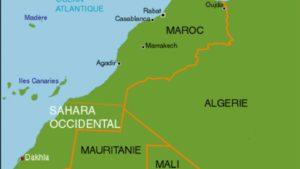 Carte Algerie Mauritanie.La Mauritanie Enjeu Strategique Entre Le Maroc Et L Algerie