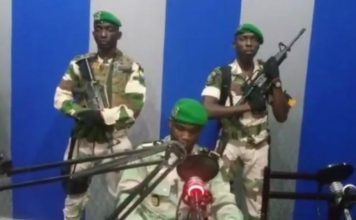 Gabon, tentative de coup d'état à Libreville